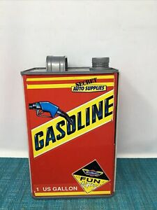 Secret Auto Supplies Gasoline Gas Can Play Set 1989 Micro Machines Galoob Lc1