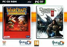 Warcraft Orcs & Humans USED    &   dungeon siege iii 3  NEW&SEALED