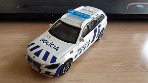 BBURAGO - BMW 3 SERIES TOURING     POLICE PORTUGAL      1/43 APROX *NEW*