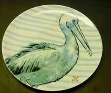 """* BELOW WHOLESALE-6"""" Pelican Stoneware Plate-usable -oven, microwave, wall decor"""
