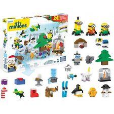 DESPICABLE ME MINIONS Calendrier de l'Avent - Mega Bloks 221 pièces Noël