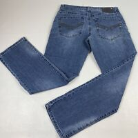 AXEL Men's Blue Treadwell Relaxed Fit Straight Leg Jeans Size 32x32