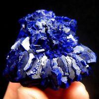 Deep Blue Azurite Crystal Nodule, Yangchun, China-azgd1ie0126