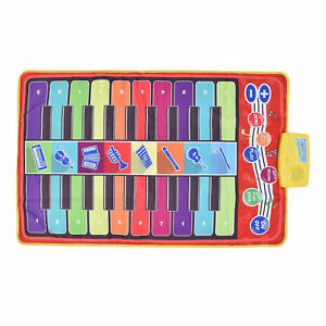Kids Piano Blanket Baby Enlightenment Piano Pedal Piano Mat Kids Game Fun Toys