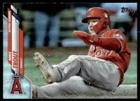 2020 Update Base Rainbow Foil #U-119 Mike Trout - Angels