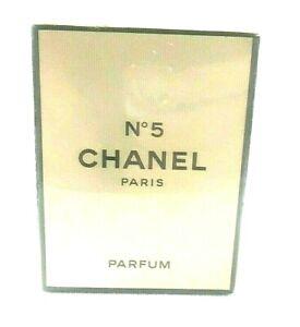 Vintage Chanel No 5 Paris Perfume 14 ml New Old Stock Sealed