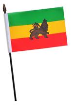 Ethiopia 1941 to 1974 Lion of Judah Small Hand Waving Flag