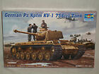 Trumpeter 1/35 Scale German Pz.Kpfm KV-1 756(r) Tank - Factory Sealed