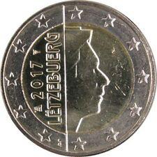 Pièces euro du Luxembourg pour 2 euro année 2017