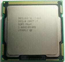 Intel Core i7 Quad Core i7-880 3.06GHz / 8MB Socket LGA1156 Processor SLBPS