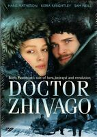DOCTOR ZHIVAGO DVD (2 DISC) Mini Series ALMOST 4 HOURS - KEIRA KNIGHTLEY