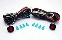 nilight off road atv/jeep led light bar wiring harness kit 40 amp relay |  ebay  ebay
