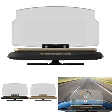 Universal HUD Auto Head Up Display GPS Navigation Projektion Mit Handy Ständer