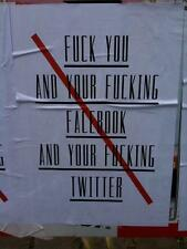 Photo. Funny Sign - FACEBOOK & TWITTER