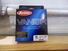 Berkley Vanish 10 lb 110 yards Clear