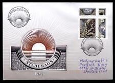 Naturdenkmal  Staburags an der Düna (Daugava). FDC-Brief. Lettland 2006