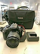Canon EOS Rebel T6 Digital SLR Camera with 18-55mm EF