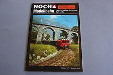 X272 NOCH Train catalogue Ho 1974 1975 60 p Deutsch Modellbahn Landschafts