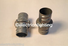 "FLEX COUPLINGS screw-in 1/2"" - Pack of  40 electrical fittings"