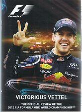 VICTORIOUS Sebastian VETTEL NEW & SEALED DVD - 2012 Formula One 1 Championship