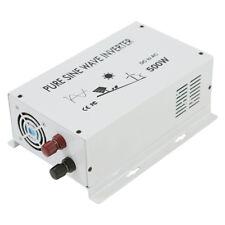 500W Power Inverter DC to AC Pure Sine Wave Inverter 12/24/36/48V to 120/220V