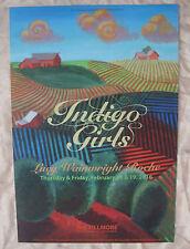 Indigo Girls Rare 2016 San Fran Fillmore Event Show Concert Poster Mint Graham