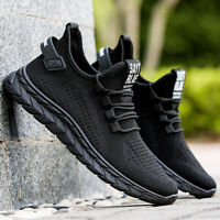 Mens Trainers Sneaker Breathable Running Shoes Casual Walking Gym Sports Shoes