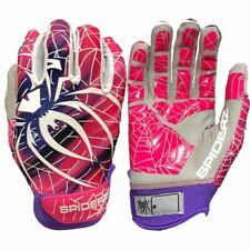 2019 Spiderz LITE Batting Gloves: Purple and Pink Blur