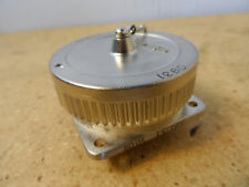 Amp 208473-1 Circular Connector W/Cap 211904-1 New