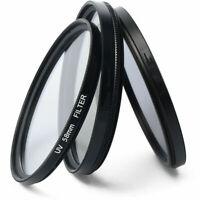 52-67mm UV Ultra-Violet Filter Lens Protector For Camera Canon DSLR/SLR/DC/DV S8