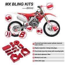 For Honda CRF250R 2009 2010 2011 2012 2013 2014 2015 Motocross Bling Kit Red