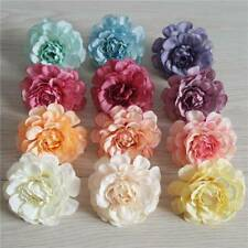 10/20x Artificial Peony Heads Flower Silk Bulk Party Wedding Fake Bouquet Decor~