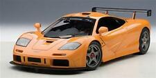 Mclaren F1 Road Car Lm Edition 1993 Orange AutoArt 1:18 AA76011