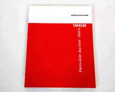 Factory Spare Parts Catalog for Harley 1958 - 1968 Pan & Shovel #99456-68 150 p