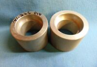 "ALUMINUM 2-1/4"" PIPE COUPLING, 141.225.010, SOCKET WELD **LOT OF 2**"