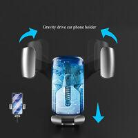 Supporto Da Auto Smartphone Girevole per BOCCHETTE ARIA Porta Cellulare Mobil IT