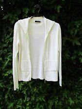 veste blanche à capuche XIN DA taille 38/40