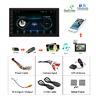 Radio para coche Podofo 2din, reproductor multimedia Android, autorradio 2 Din 7