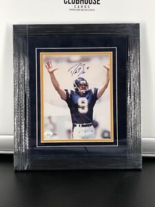 DREW BREES SIGNED FRAMED 8x10 PHOTO New Orleans SAINTS/Chargers  Jsa /109