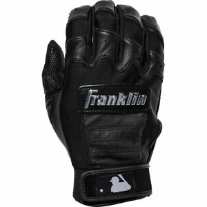 Franklin CFX Pro Full Color Chrome Batting Gloves Pair - Black - XL