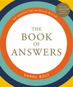 The Book of Answers by Bolt, Carol