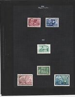 hungary 1954-55 stamps page ref 17652