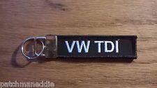 "Key chain patch Auto patch new nice ""VW TDI"" NEW Volkswagen"