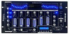 Ibiza DJM102-BT 19 Mischpult 6 Kanal USB Bluetooth Mixer Audio Bar Disco Club DJ