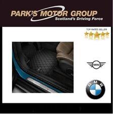 MINI Genuine Floor Mats All-Weather Rear Set Essential Black F60 51472447608