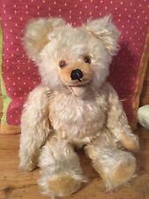 Entzückender alter Mohair Teddybär Old Teddy Bear Vintage Antik 40cm Antique
