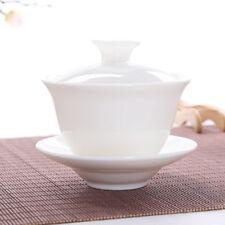 White Gongfu Ceramic Gaiwan Guywan 100ml 3.4 fl oz