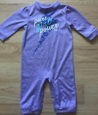 Under Armour One Piece Outfit Baby Toddler Size 3-6 Months Purple