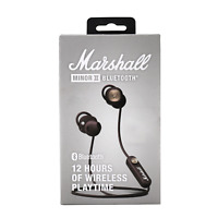 Marshall MINOR II BLUETOOTH In-Ear Headphones with Microphone headst Remote
