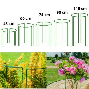 Blumenstütze Pflanzenstütze Staudenhalter Buschstütze Staudenstütze Rund Grün